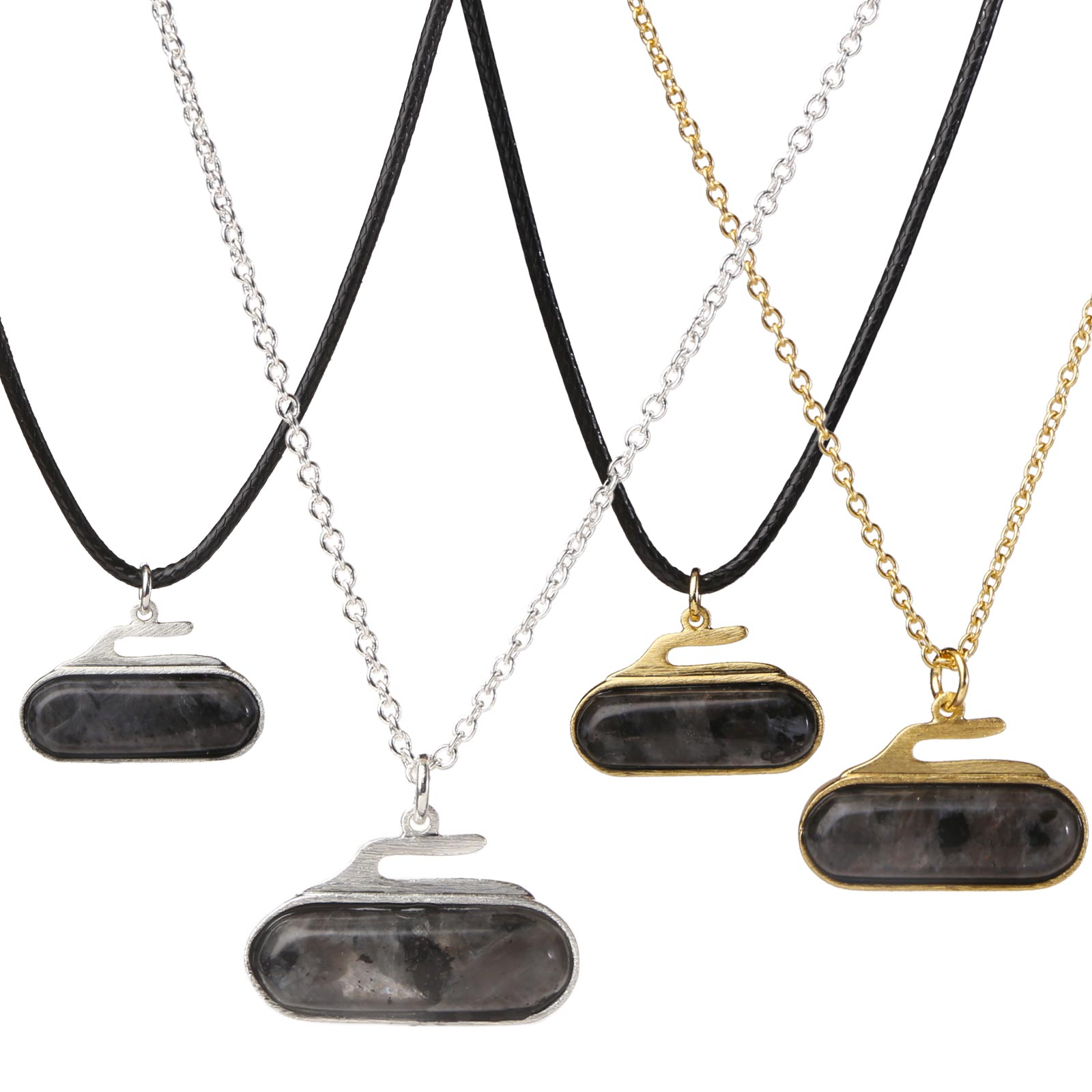 Necklace 2D Rock Granite Stone