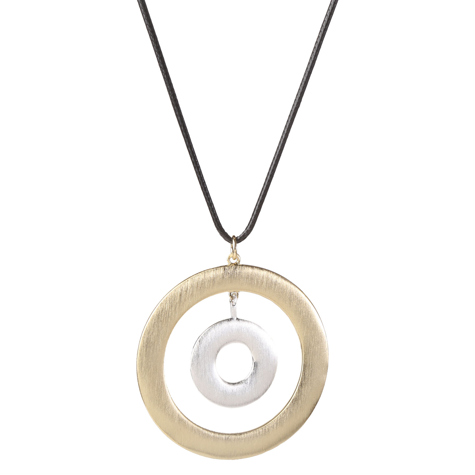 Goldline Necklace with House Rings